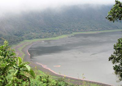 Empakaai crater lake