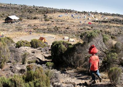 Kilimanjaro camping site