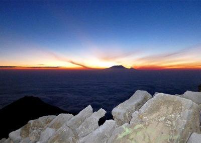 View to Mt. Meru