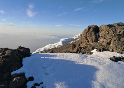 Snow on Kilimanjaro