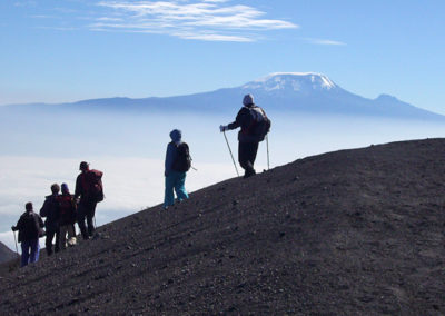 Mt. Meru descent