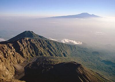 Mt. Meru ash cone