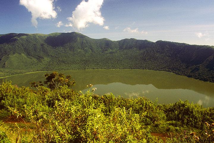 NCA trekking - Empakaai Crater