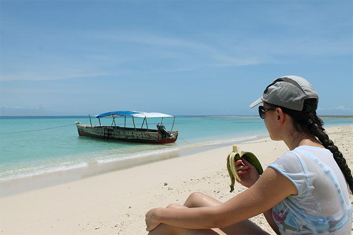 Pangani beach